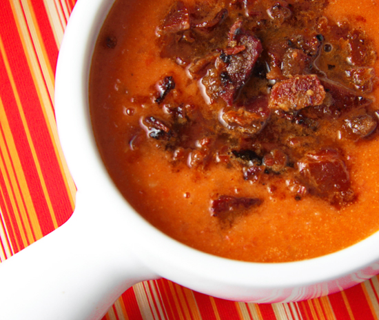 Maple Bacon Soup